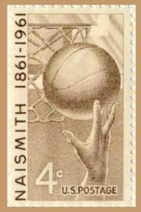 James Naismith Stamp