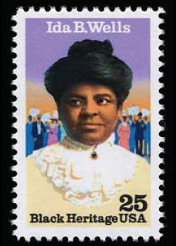 Ida B. Wells Stamp